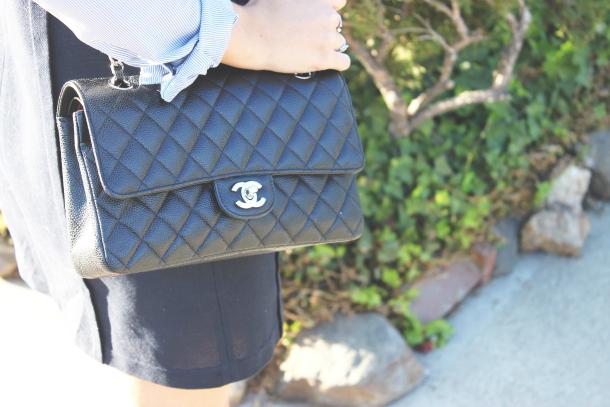 Vanessa Bruno Dress Chanel Flats Chanel Bag
