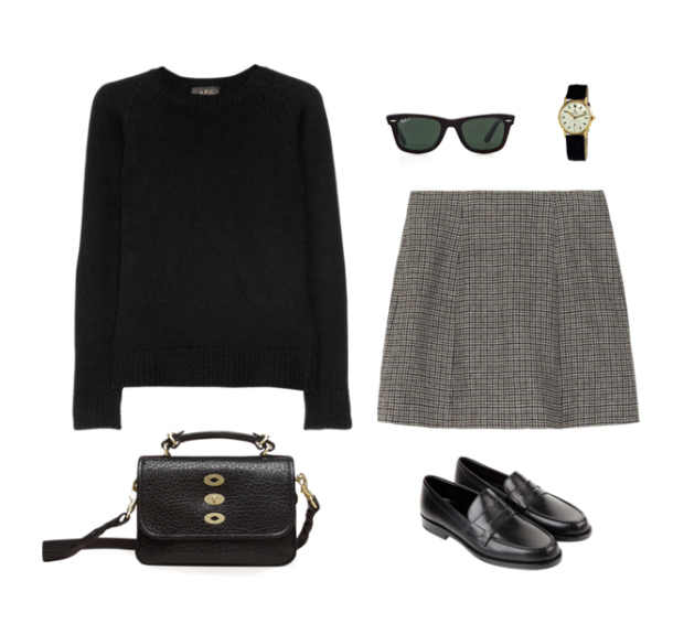 Apc Sweater Marc Jacobs Skirt