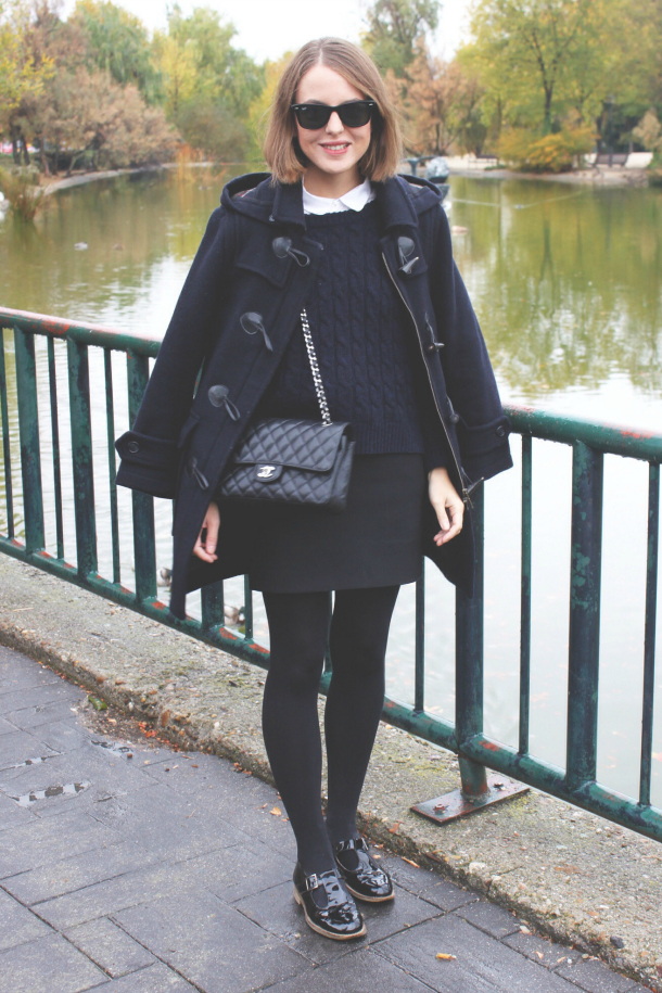 Barbour Duffle Coat Chanel Classic Flap Bag