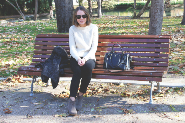 Isabel Marant Etoile Coat Prada Saffiano Bag And Isabel Marant Dicker Boots