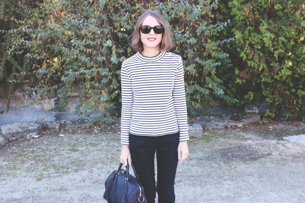 Petit Bateau Striped Top Sofia Coppola For Louis Vuitton Bag