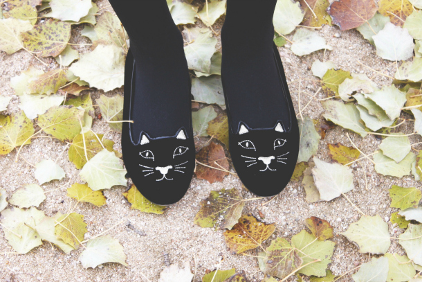 Charlotte Olympia Kitty Flats
