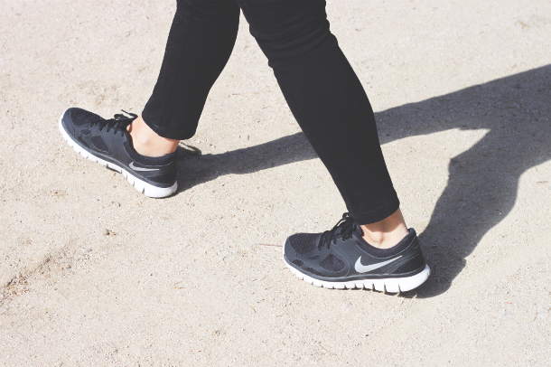 Isabel Marant Coat Nike Flex Sneakers