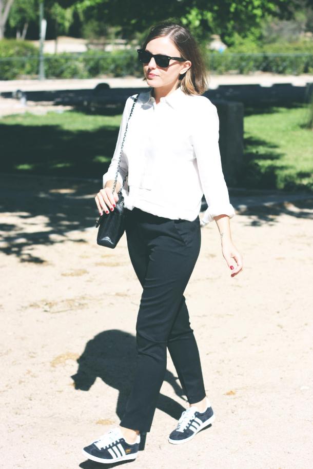 Fashion Blogger Trini The Kooples Trousers