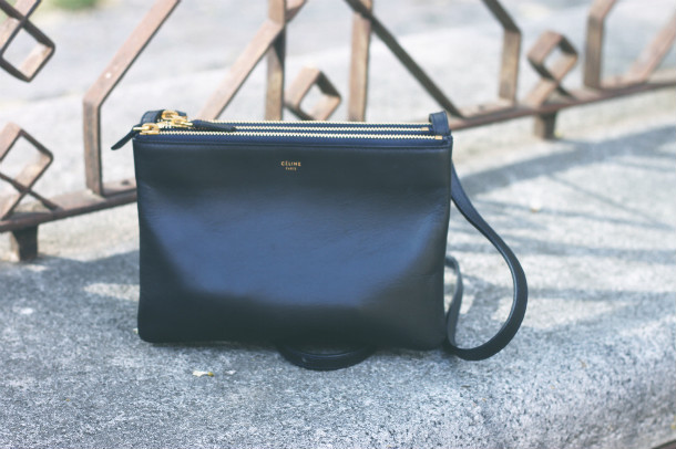 Celine Trio Navy Fashion Blogger Trini