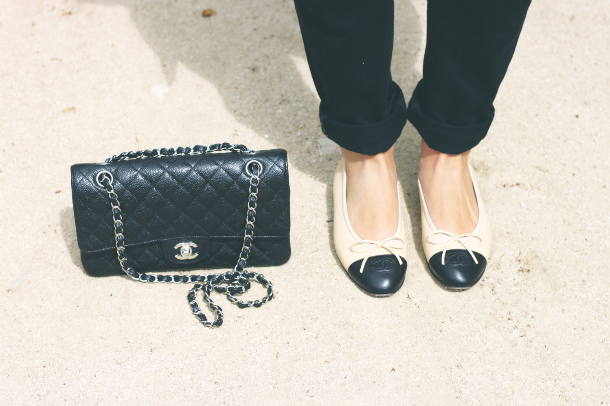 Chanel flats Fashion Blogger Trini