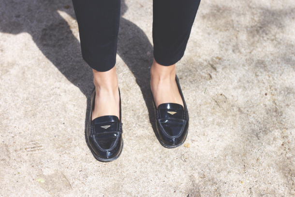 Miumiu Patent Loafers