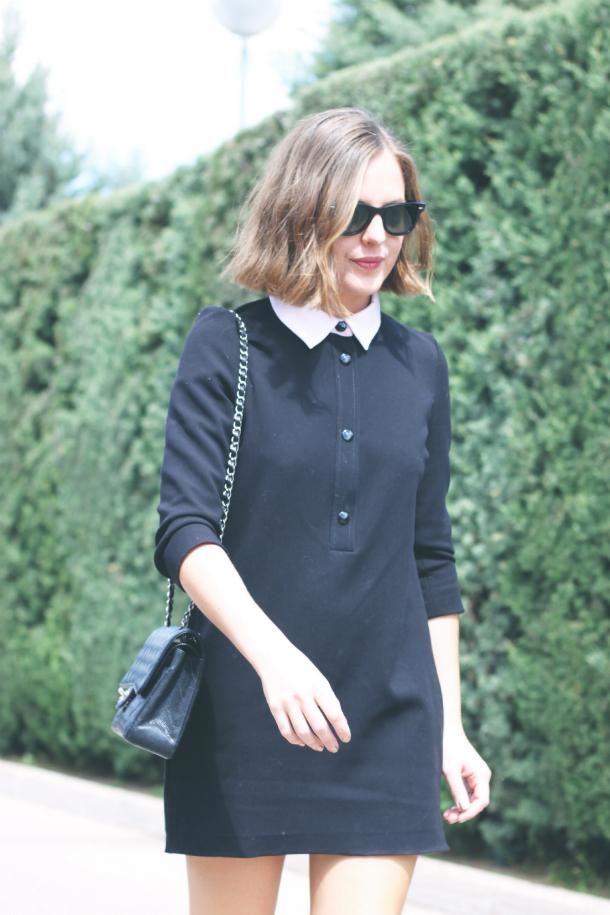 Sandro Dress Chanel Flats
