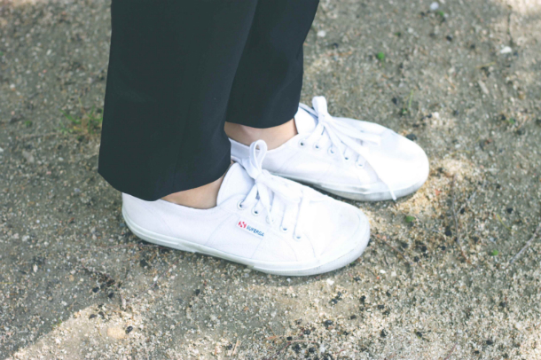 Fashion Blogger Trini Superga Sneakers