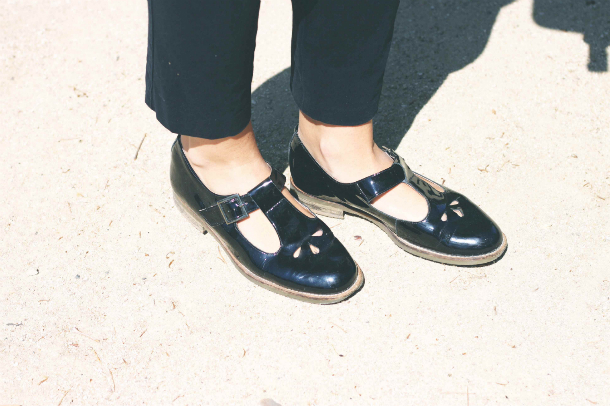 Topshop Flats Fashion Blogger Trini