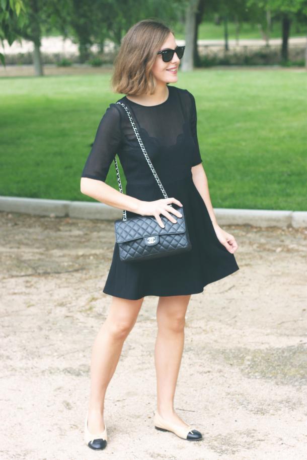 Fashion Blogger Trini The Kooples Dress