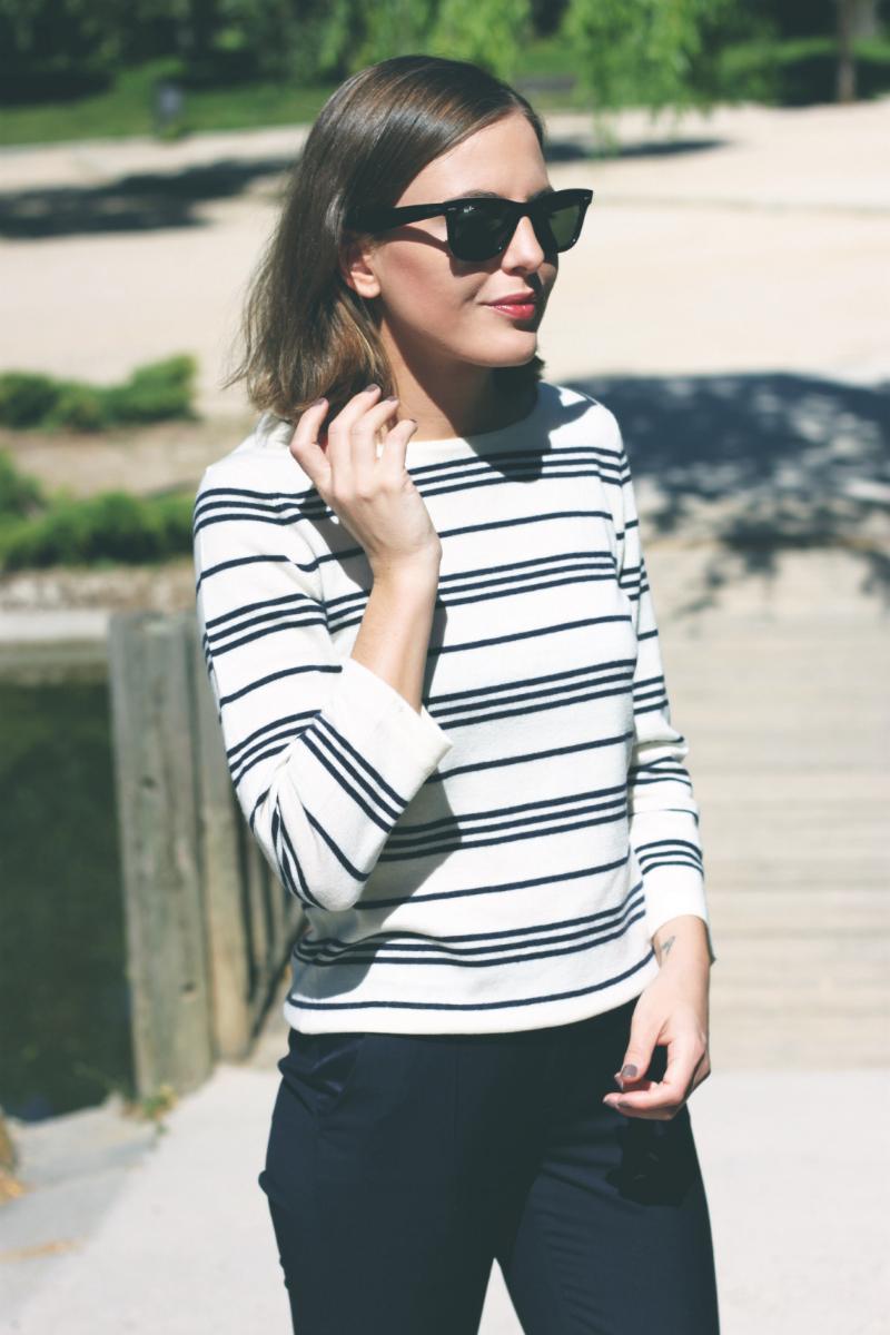 Apc Striped Top Fashion Blogger Trini