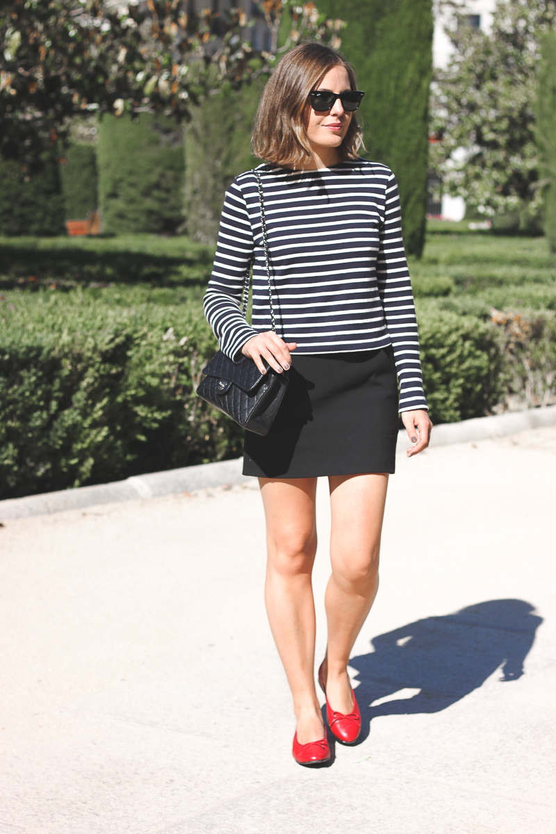 how to wear red flat shoes - photo #38