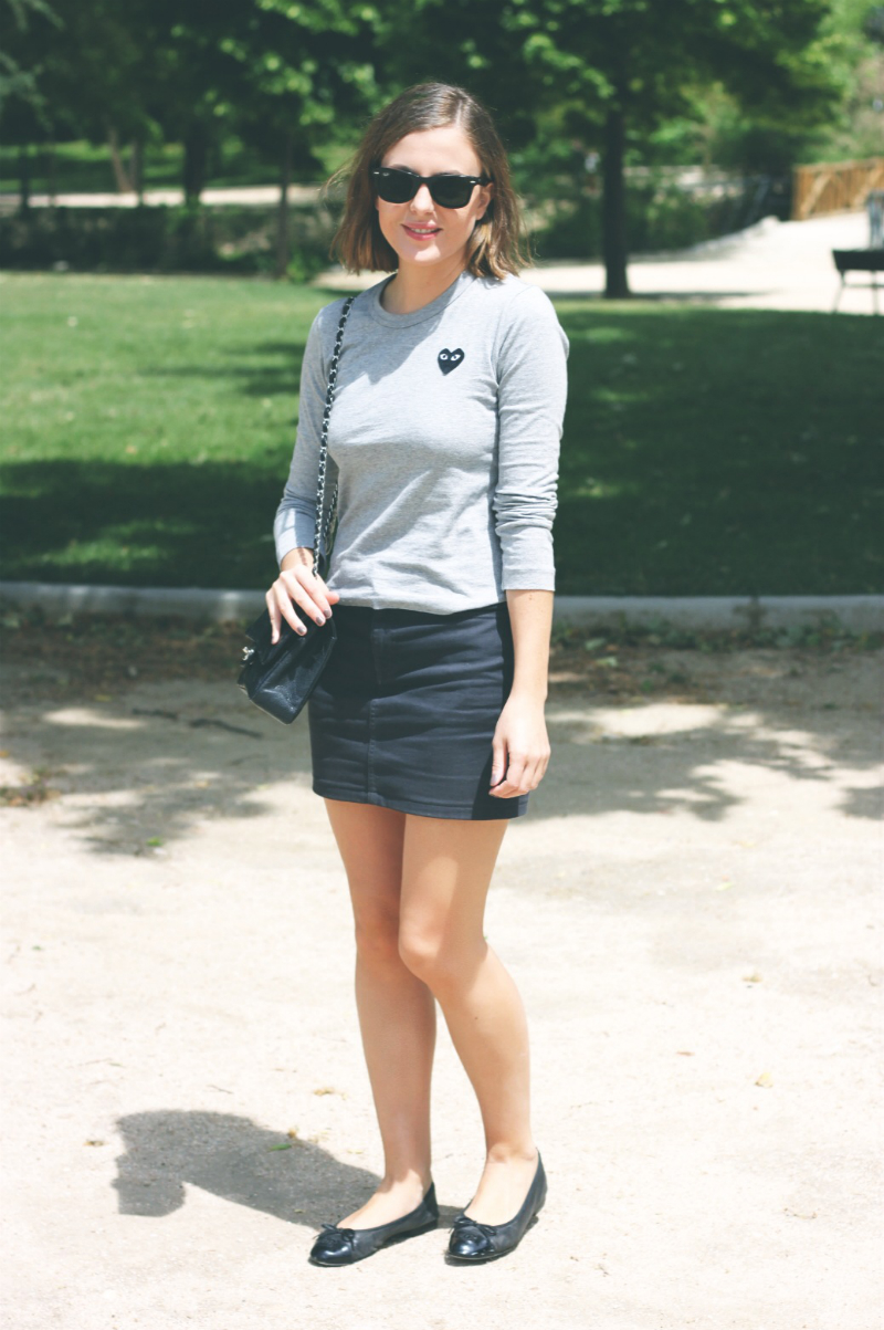 Fashion Blogger Trini American Apparel Skirt