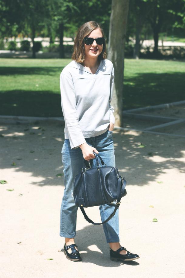 Fashion Blogger Trini Boyfriend Jeans