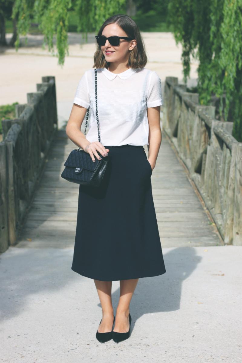 COS Midi Skirt Fashion Blogger Trini
