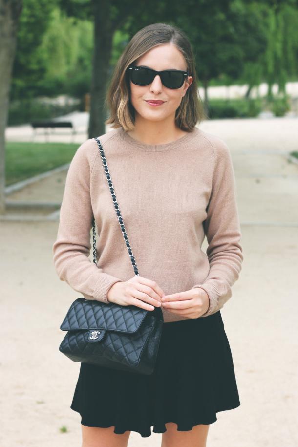 Fashion Blogger Trini Equipment Sweater