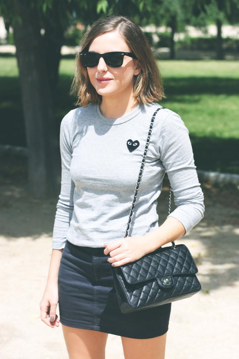 Fashion Blogger Trini Play Comme Des Garçons
