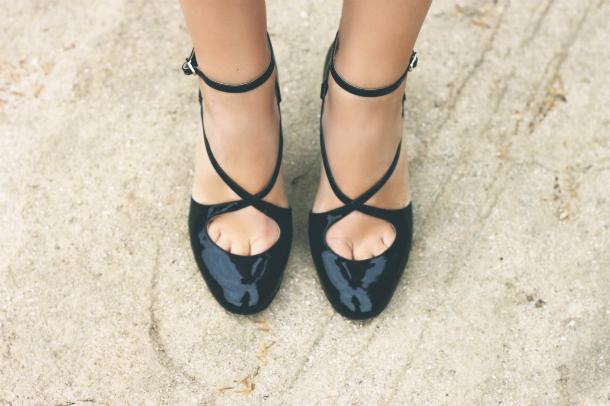 Fashion Blogger Trini Valentino Heels