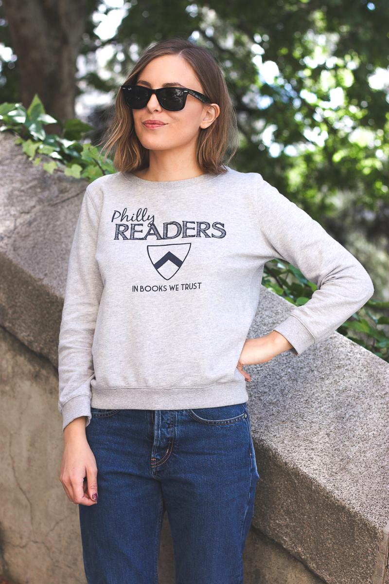Trini Apc Philly Readers Sweatshirt
