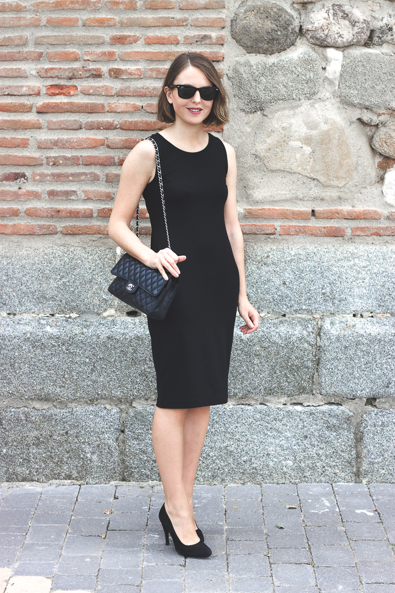 Trini Gap Black Dress