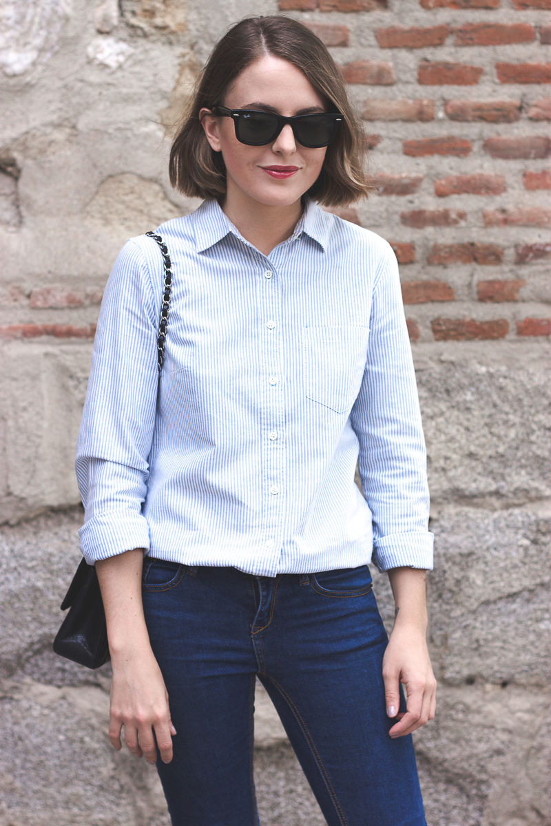 Trini striped JCrew shirt