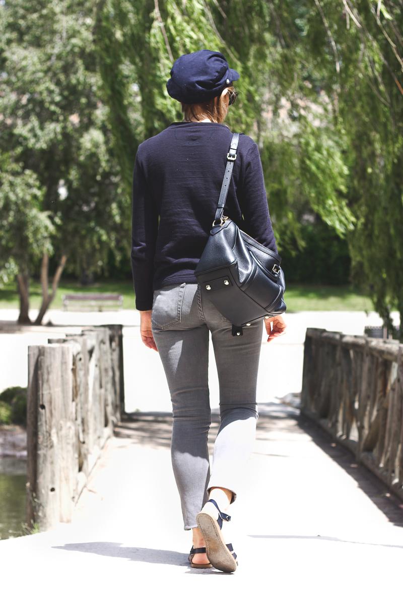 Trini grey jeans Saltwatersandals
