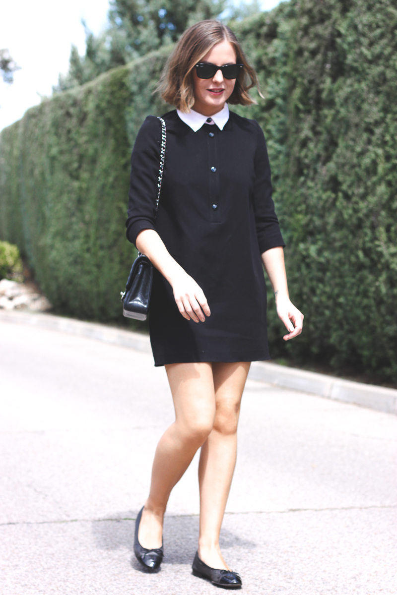 Trini Sandro black dress