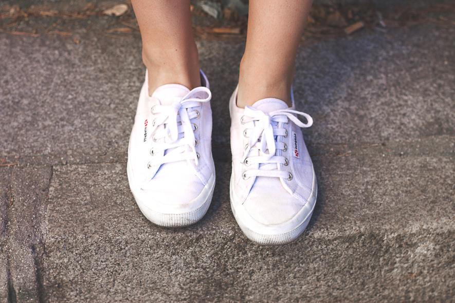 Superga White Sneakers Trini Blog