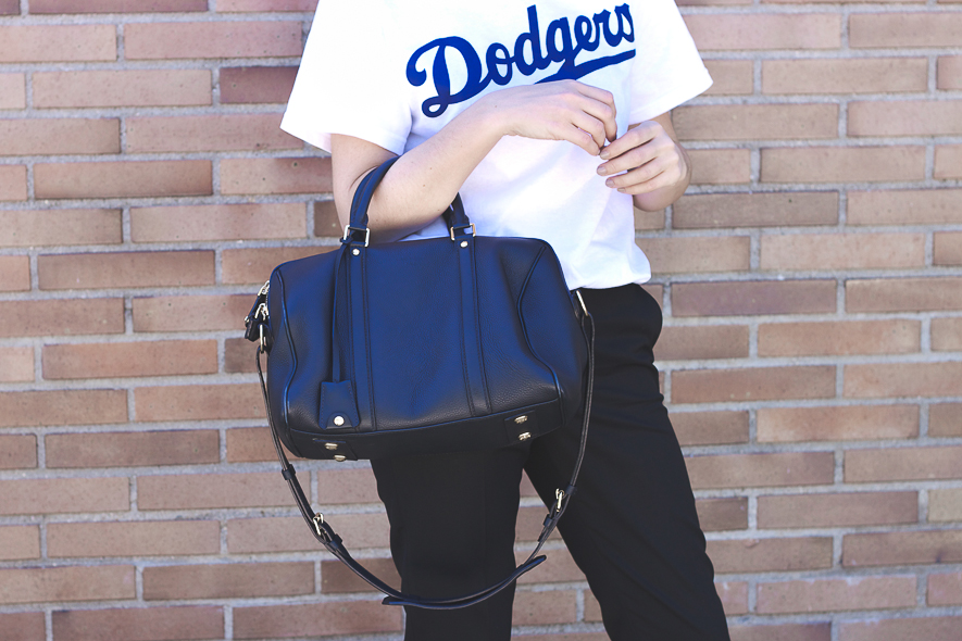 Dodgers Tee Louis Vuitton Bag