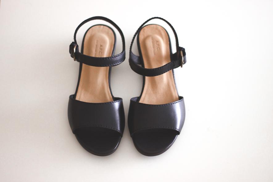 APC roma sandals