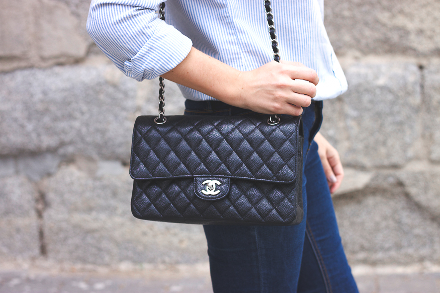 Chanel classic flap Trini blog