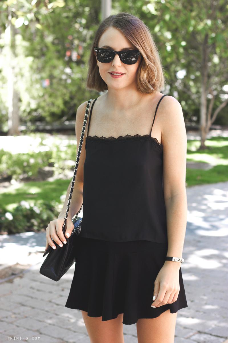 Isabel Marant black skirt Trini blog