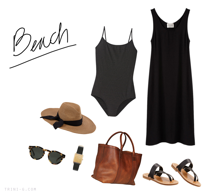 Trini blog beach summer outfit