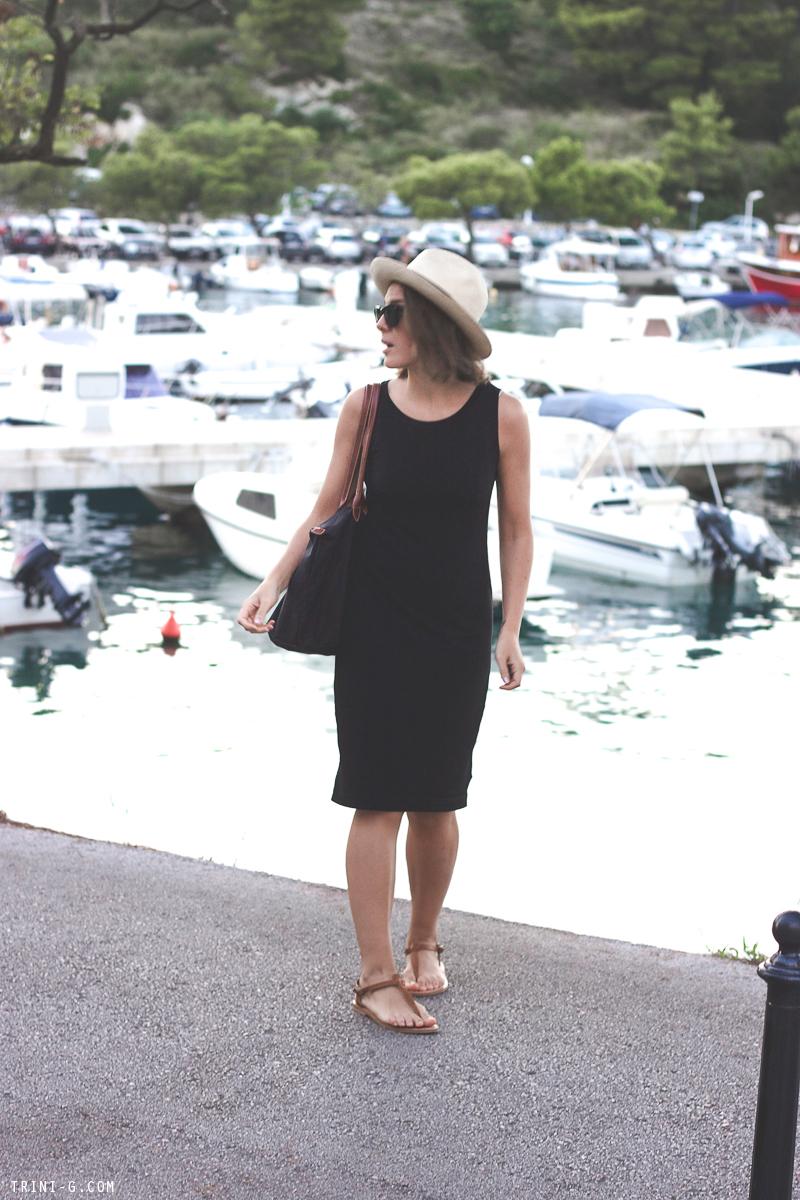 K Jacques picon sandals black dress TRINI BLOG