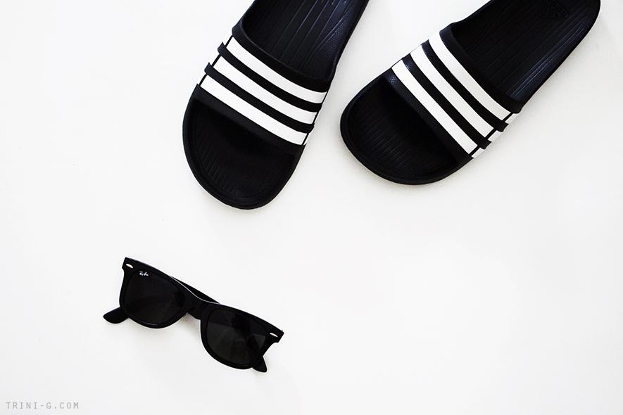 Trini blog | Adidas duramo slides