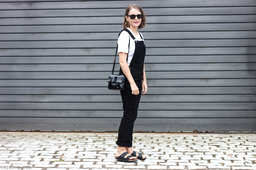 Trini blog | black and white outfit