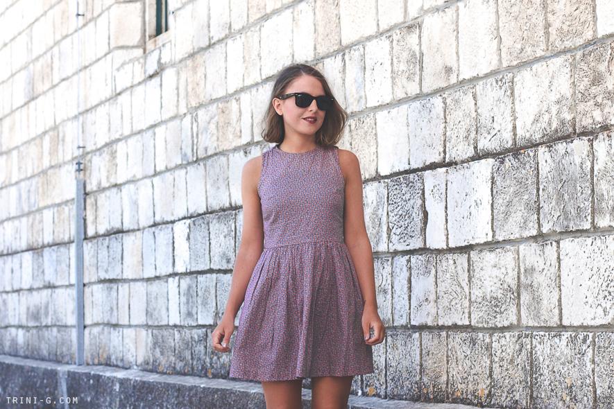 Trini blog   Summer flower print dress