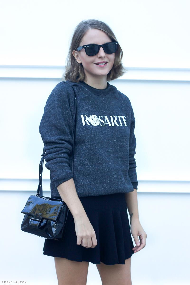 Trini blog | Rosarte Rodarte sweatshirt