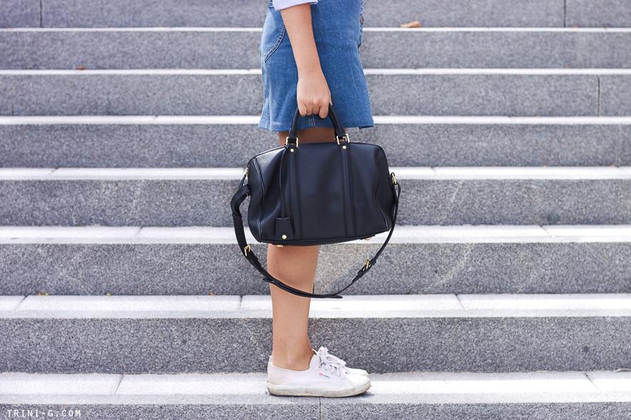 Trini blog |Superga classic white sneakers