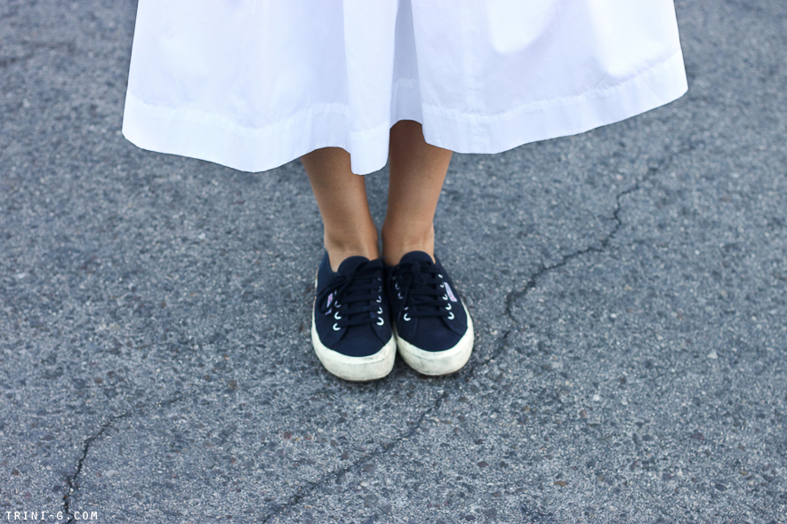 Trini blog | Superga navy sneakers
