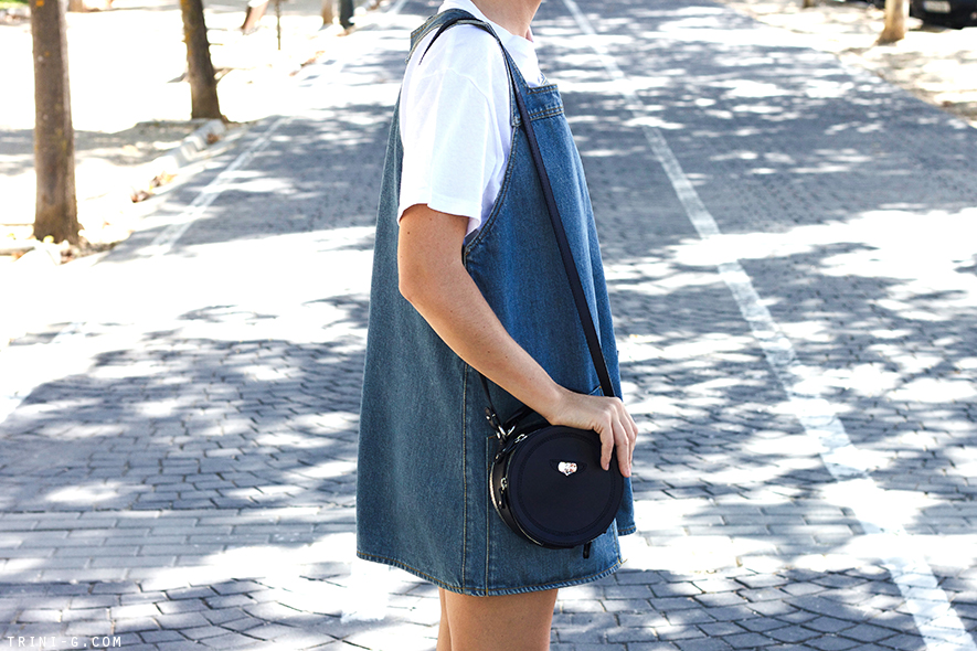Trini blog | Carven navy round bag