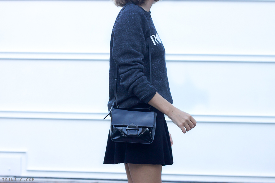 Trini blog | Reed Krakoff black patent bag