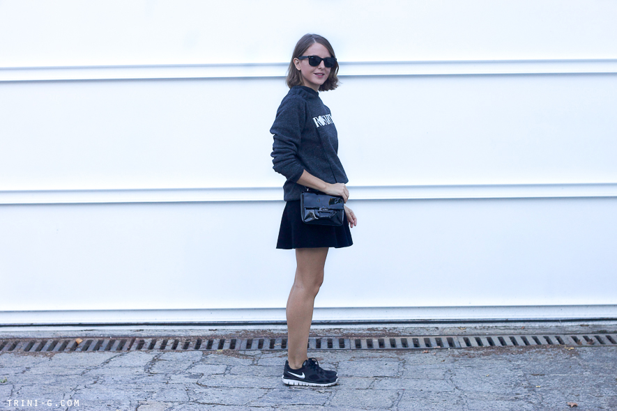 Trini blog |black charcoal outfit