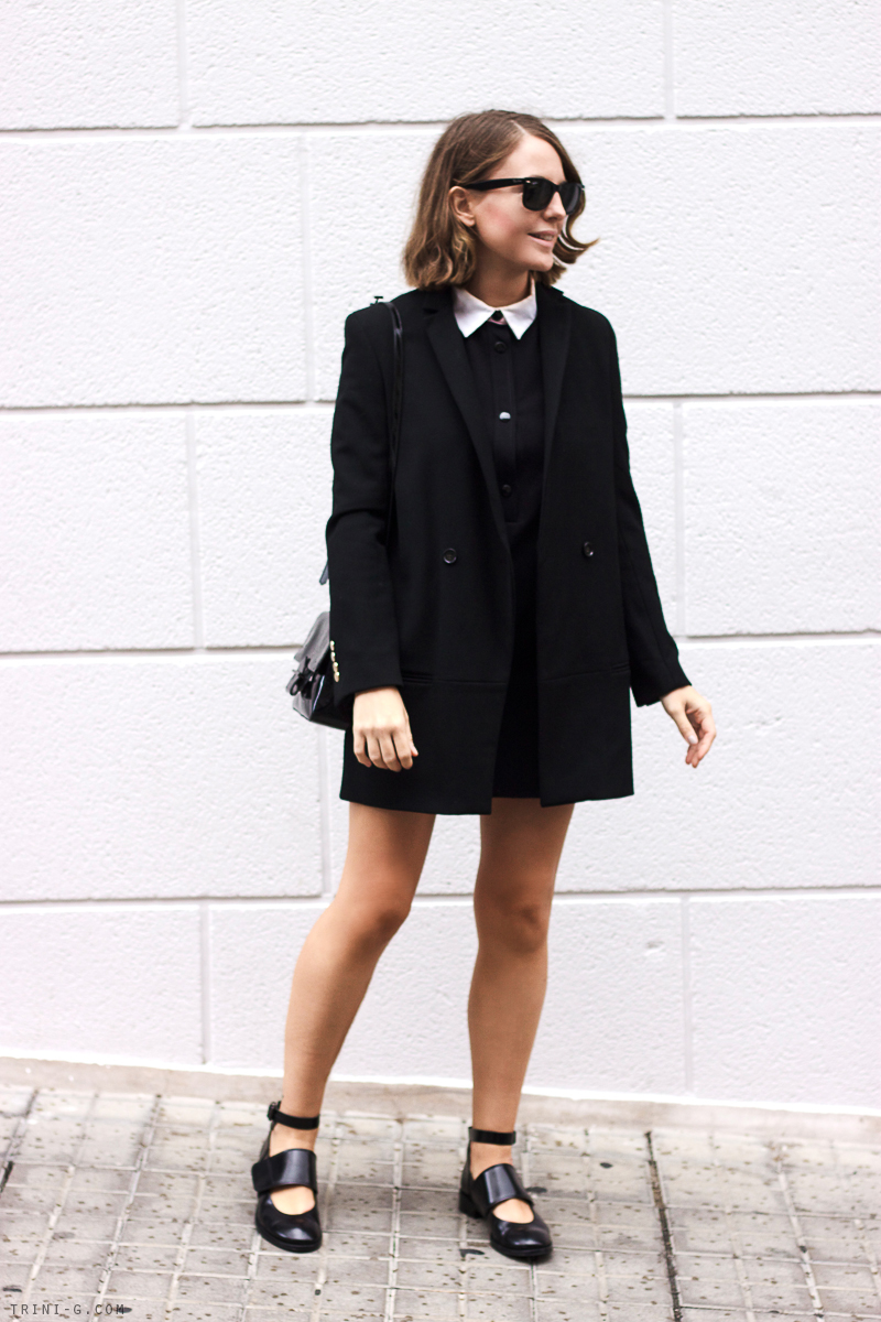 Trini blog | The Kooples black coat
