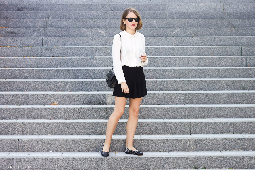 Trini   black and beige fall outfit