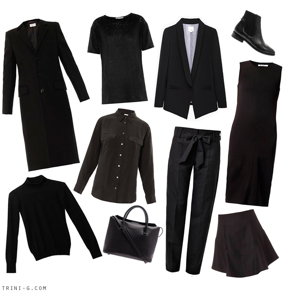 Trini blog | Black essentials