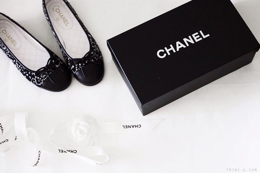 Trini | Chanel Tweed flats