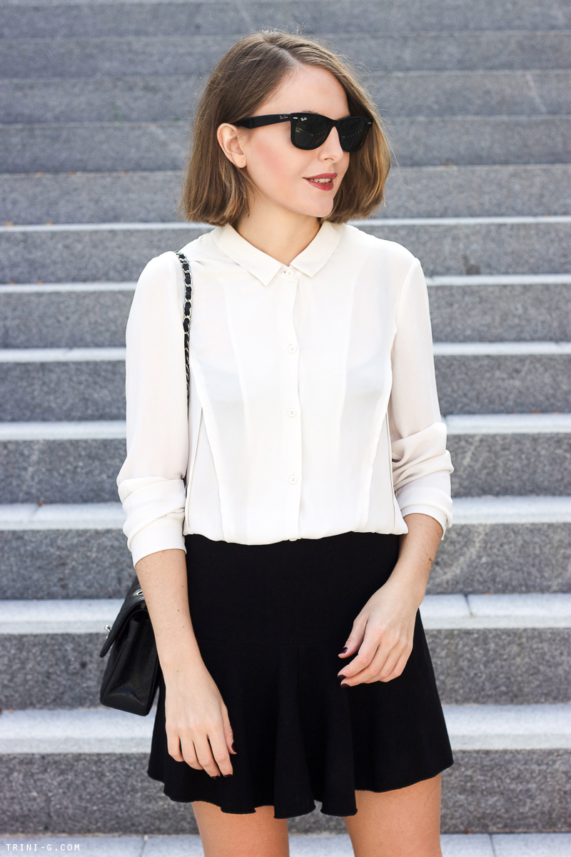 Trini   Isabel Marant etoile black skirt