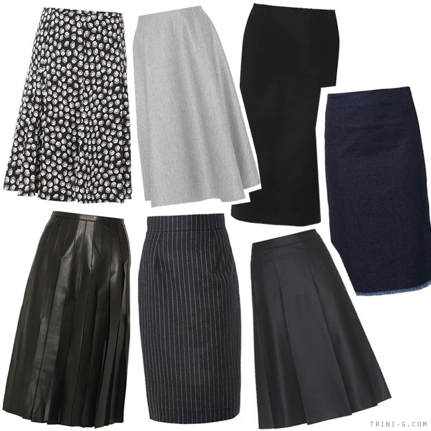 Trini blog | Midi skirts for fall